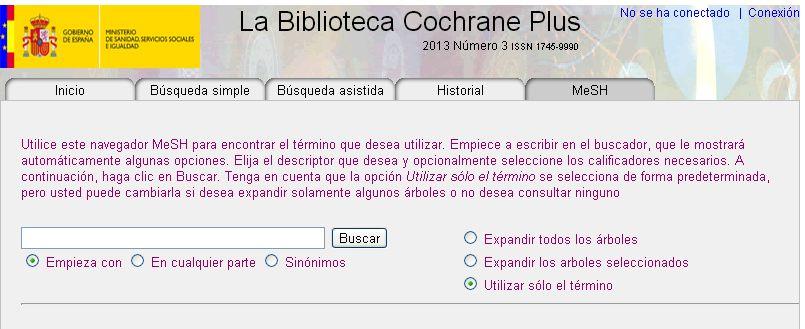 MeSH Cochrane