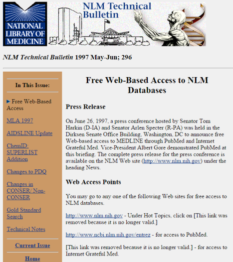 NLM Technical Bulletin Free PubMed.png